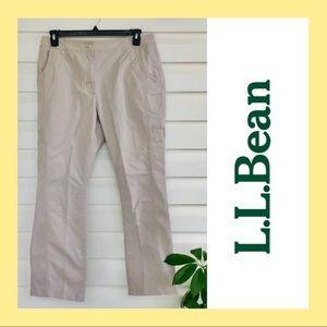 LLBean comfort cargo pants. AA12